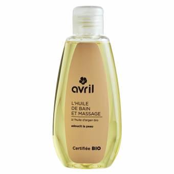 Huile de bain et massage A l'huile d'argan bio - 160ml