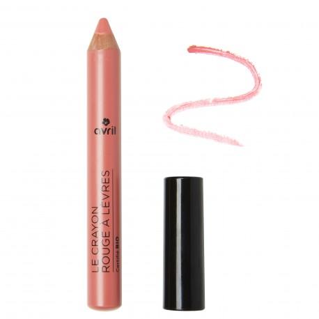Crayon rouge à lèvres Bois de Rose  Certifié bio