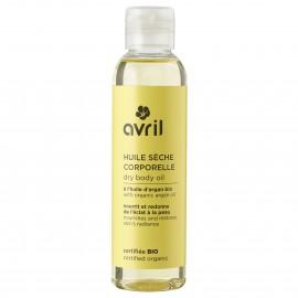 Olio secco corpo  con olio di argan- 150ml - Certificato bio