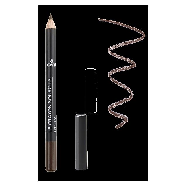 Crayons sourcils brun - Certifié bio