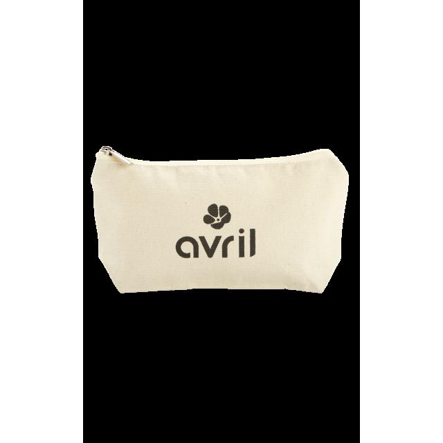 Trousse à maquillage en coton bio - Petit format