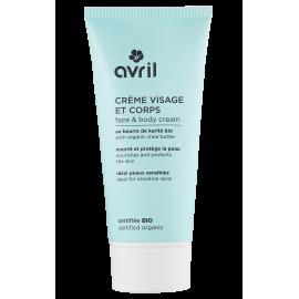 Crème visage et corps - Au beurre de karité bio - 250 ml - Certifiée bio