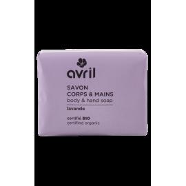 Sapone corpo & mani Lavande  100g - Certificato bio