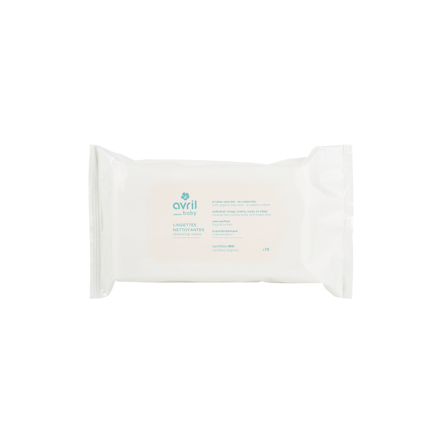 Salviettine detergenti  x72 – Certificate bio