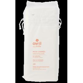 Quadrati detergenti per bambini in cotone bio