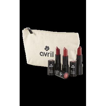 Astuccio regalo cosmesi bio idee regalo makeup rossetti bio for Rossetti vernici e idee