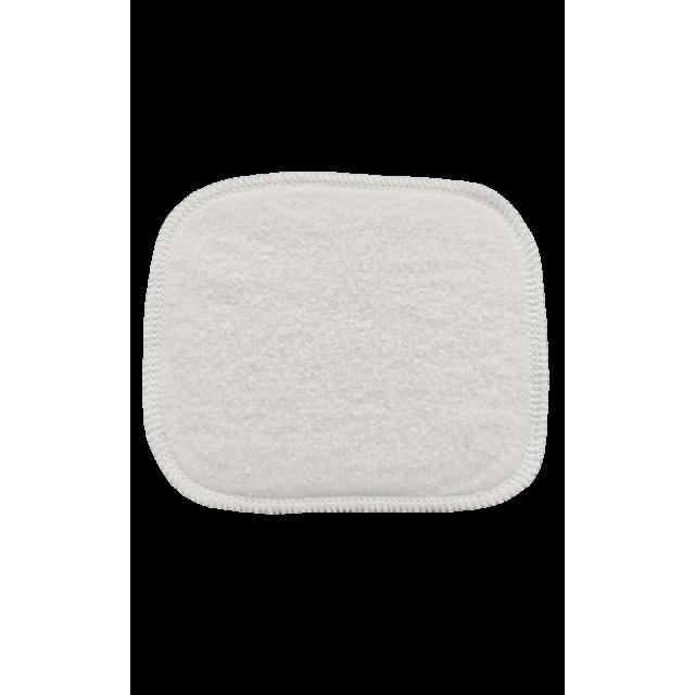 Quadrato struccante lavabile  In cotone bio