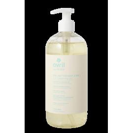 Gel detergente 2 in 1 certificato bio