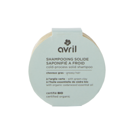 Shampoo solido saponificato a freddo capelli grassi 100g - Certificato bio