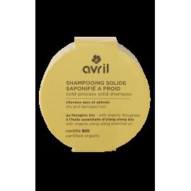 Shampoo solido saponificato a freddo Capelli secchi e danneggiati 100g - Certificato bio