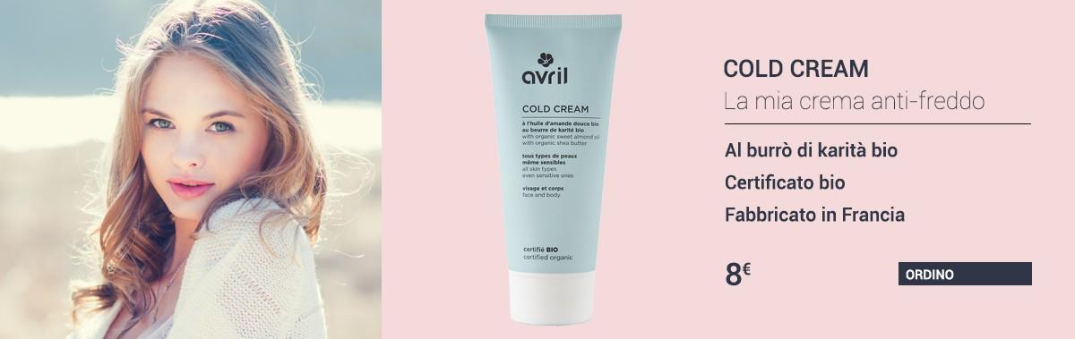 Cold cream bio